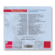 Cover Baby Musik CD Piano Piano 1