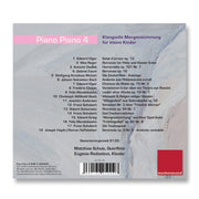 Cover Baby Musik CD Piano Piano 4