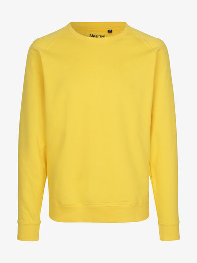 Organic Unisex Sweatshirt Yellow - Babylotta X Neutral