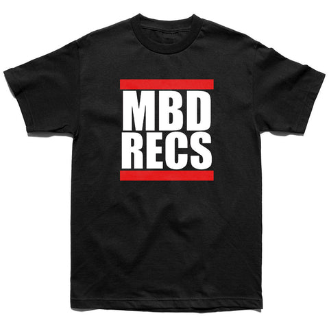 MBD Recs T-shirt (black)