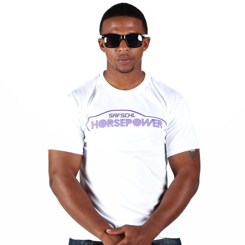 Horsepower T-shirt (white)