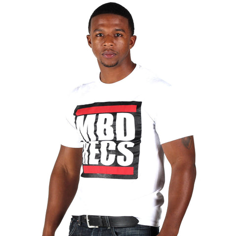 MBD Recs T-shirt (white)