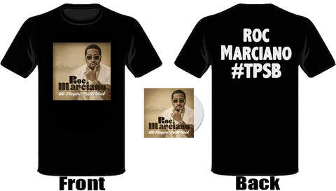 Roc Marciano - The Pimpire Strikes Back T-shirt + CD Bundle
