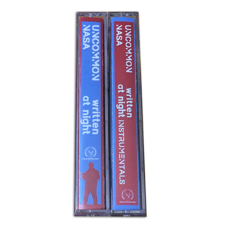 "Uncommon Nasa ""Written At Night"" Cassette Bundle"