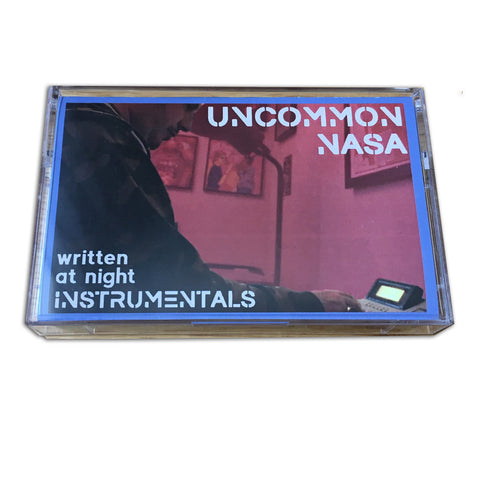 "Uncommon Nasa ""Written At Night"" Instrumentals Cassette Tape"