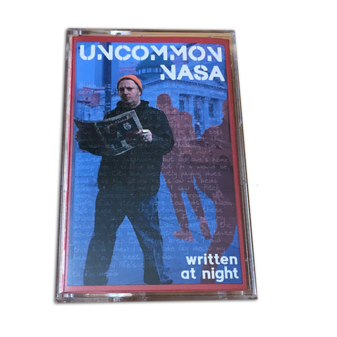 "Uncommon Nasa ""Written At Night"" Album Version Cassette"