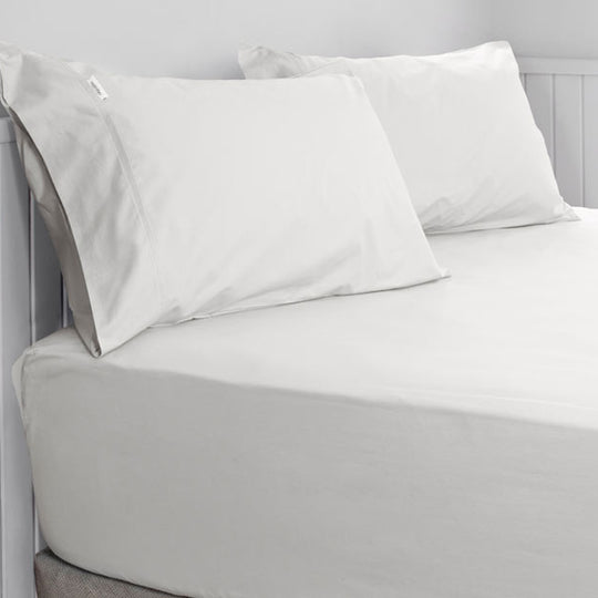 300THC Cotton Percale Fitted Sheet Combo Set Range