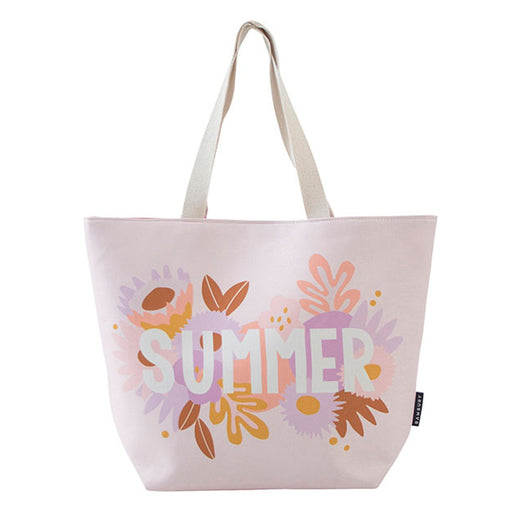 Beach Tote Bag Printed Summer Multi