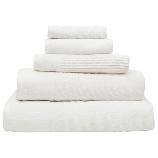 Costa 600GSM Cotton Bath Towel Range Snow