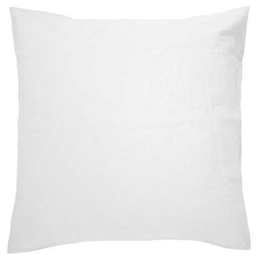 French Linen European Pillowcase Snow