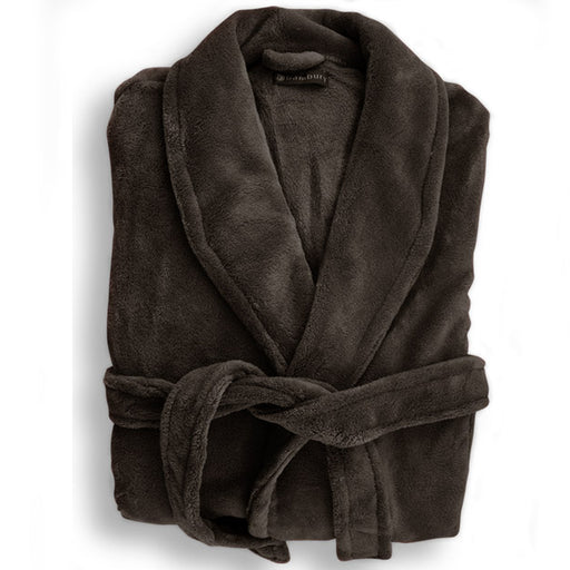 Microplush Bath Robe Range Bitter Chocolate
