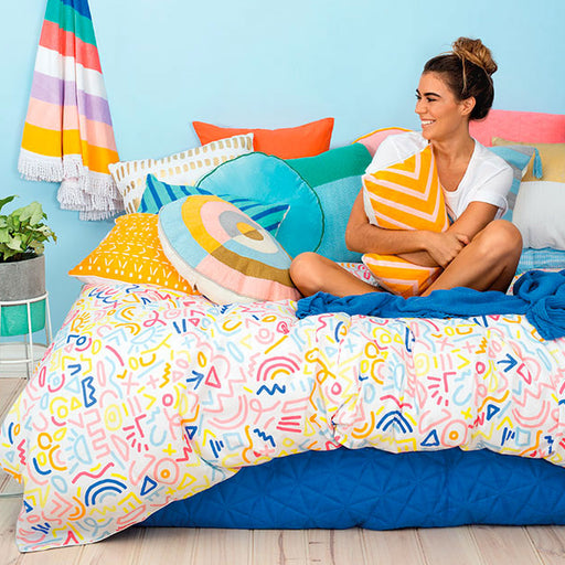 Sami Quilt Cover Set Range Multi