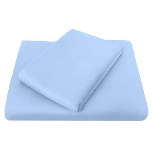 Chateau 210THC Polyester Cotton Standard Pillowcase Blue