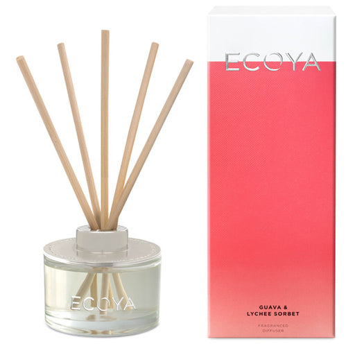Mini Reed Diffuser 50ml Guava and Lychee Sorbet