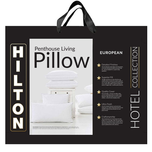 Penthouse Living Gusset 1400GSM European Pillow