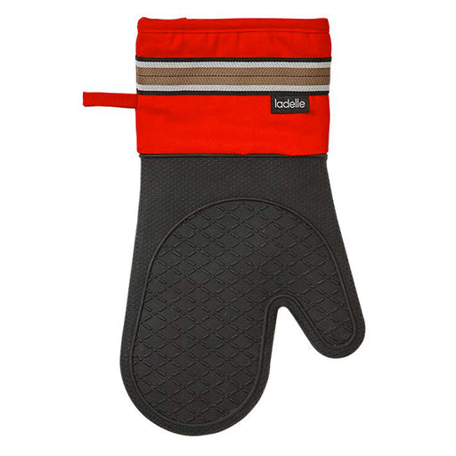 Professional Series II Silicone Oven Mitt Red