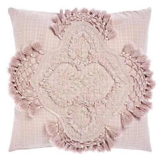 Alli 48x48cm Filled Cushion Mauve
