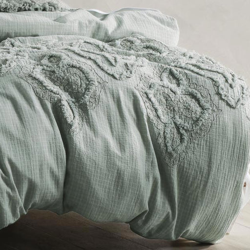 Alli Quilt Cover Set Range Stillwater