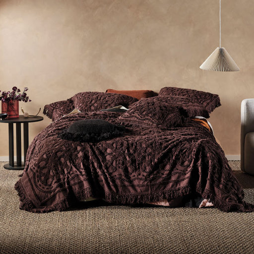 Somers Coverlet Espresso