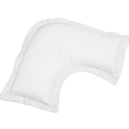250THC Cotton Percale V-Shape Pillowcase White