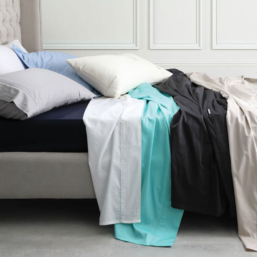 Hotel Grande 400THC Egyptian Cotton Sateen European Pillowcase Linen