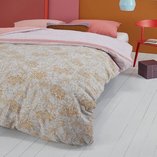 Fineliner Quilt Cover Set Range Soft Pink