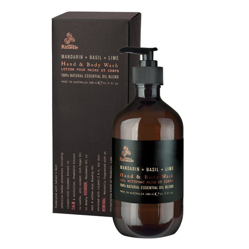 Equilibrium 500ml Hand and Body Wash Mandarin with Basil and Lime