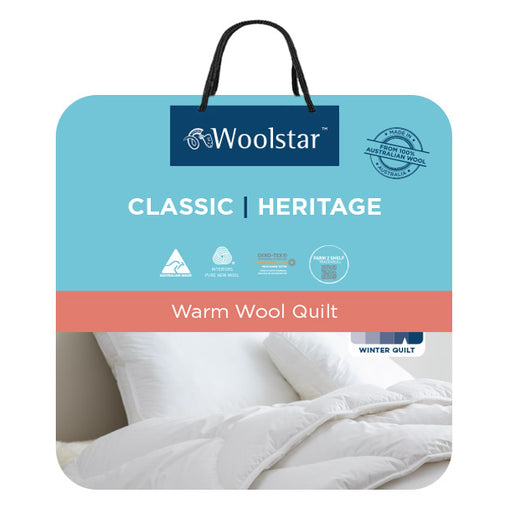 Classic Heritage 500gsm Wool Quilt Range