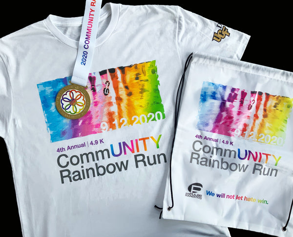 2020 CommUNITY Rainbow Run Pack