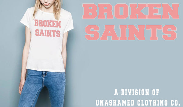 Broken Saints Freshman Logo Ladies Tee