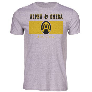 Broken Saints Alpha & Omega Tee