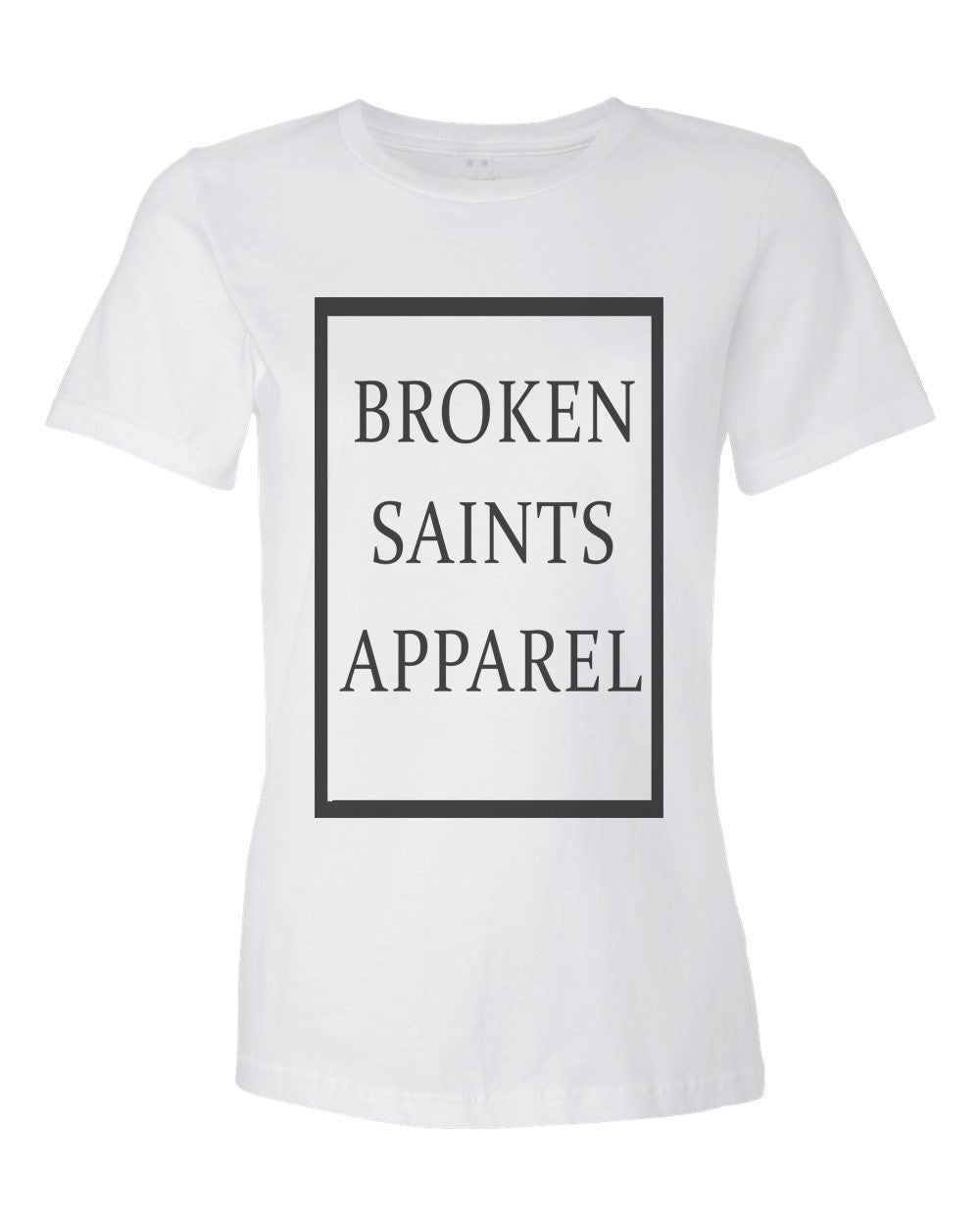 Broken Saints Apparel Box Ladies Tee