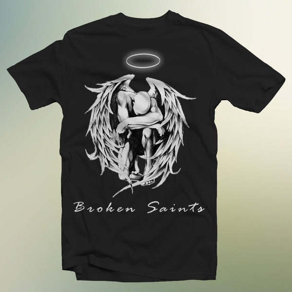 Broken Saints Praying Angel Tee