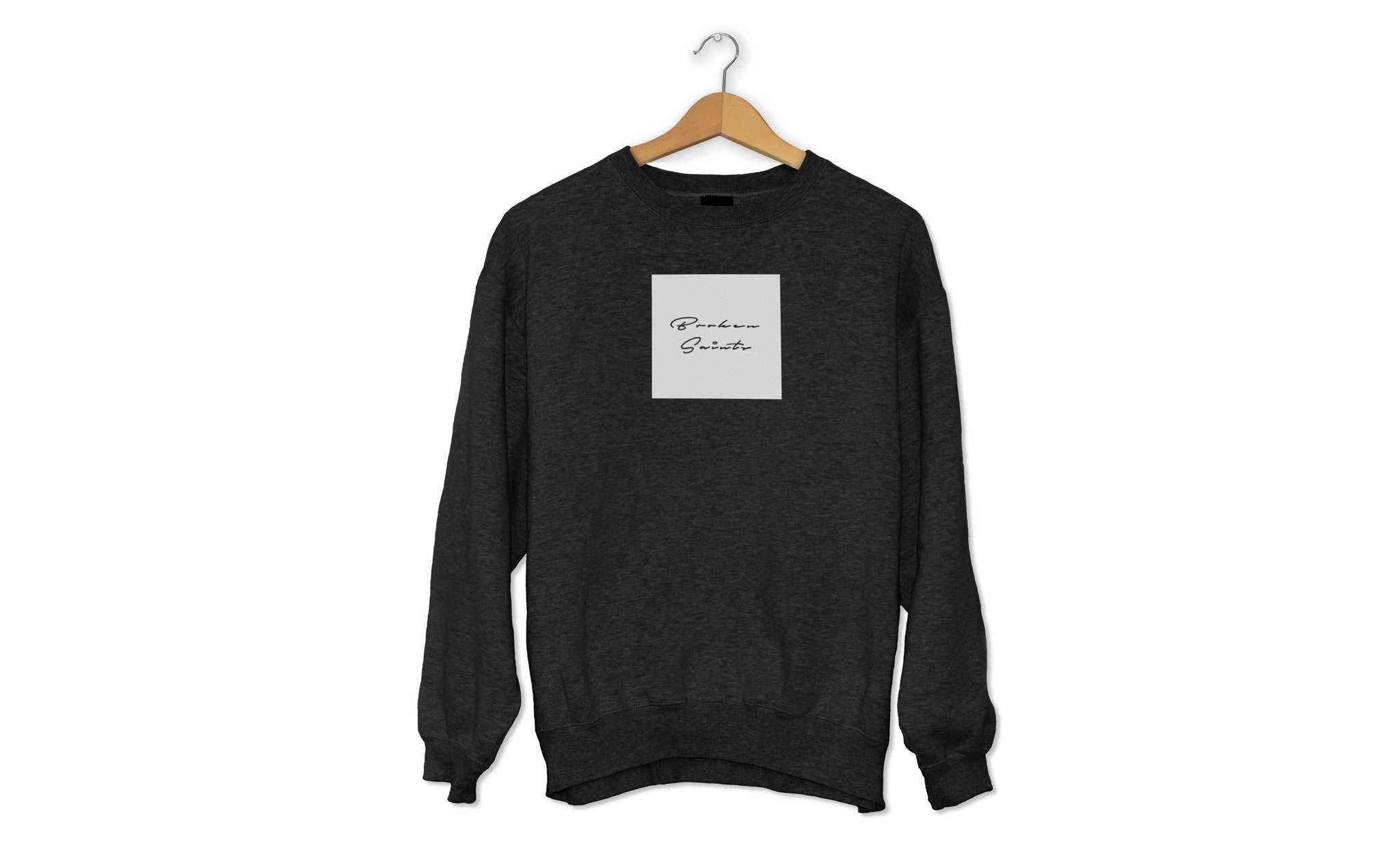 Broken Saints Signature Box Crewneck Sweaters