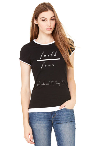 Faith Over Fear 2 in 1 Ladies Tee