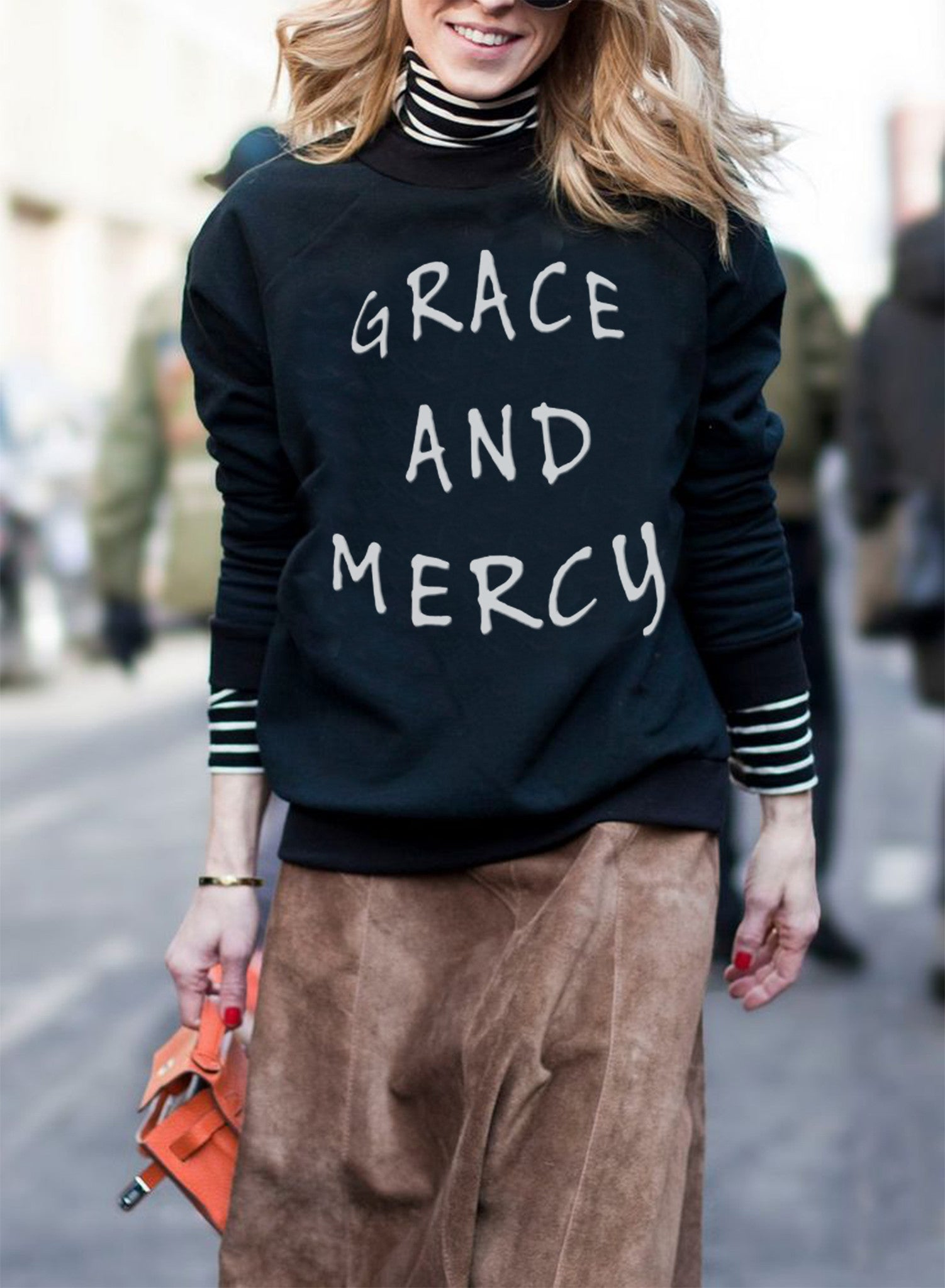 Grace and Mercy Crewneck Sweaters