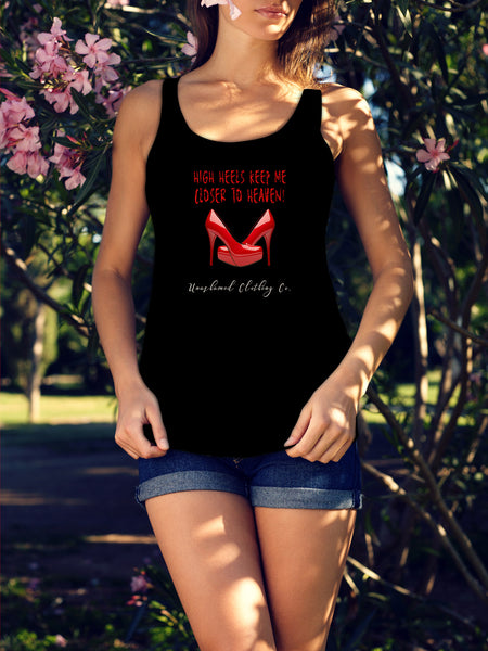 High Heels to Heaven Ladies Tank
