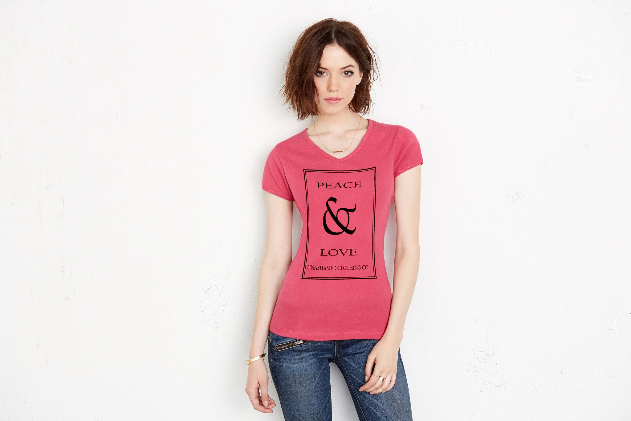 Peace & Love Ladies Tee