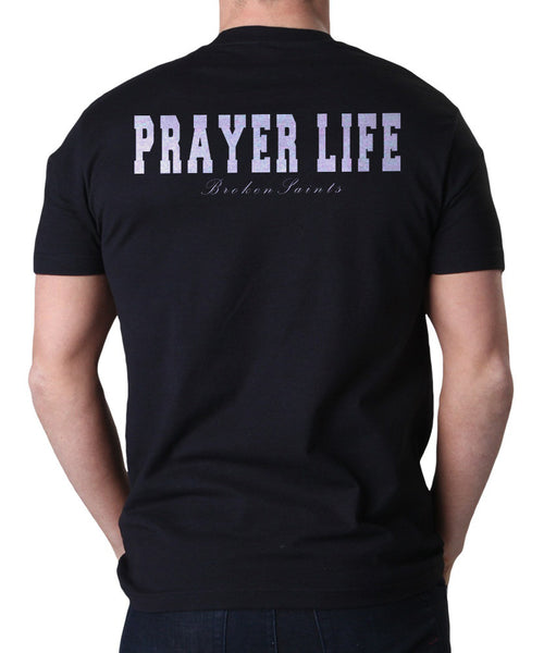 Broken Saints Prayer Life Tee