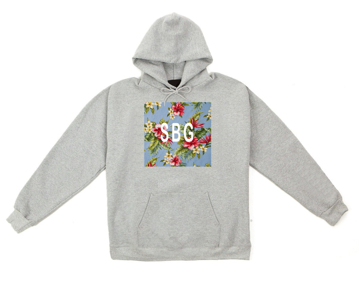 Saved By Grace (SBG) Tropical Hoodie