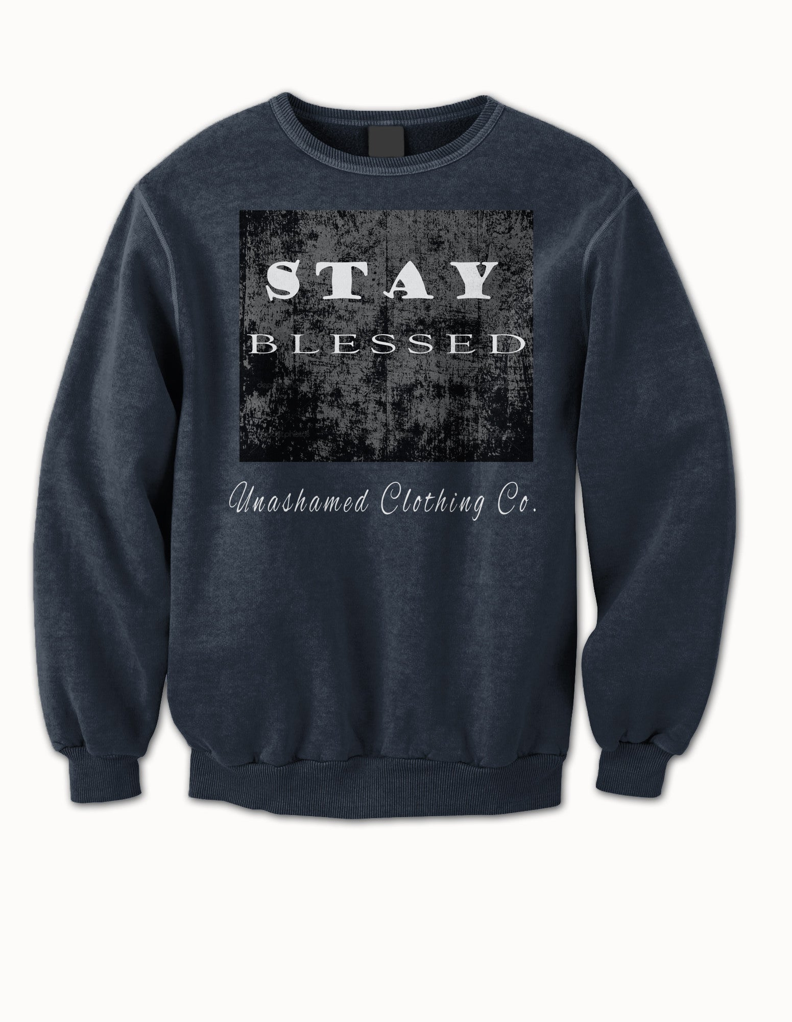 Stay Blessed Ladies Crewneck Sweater