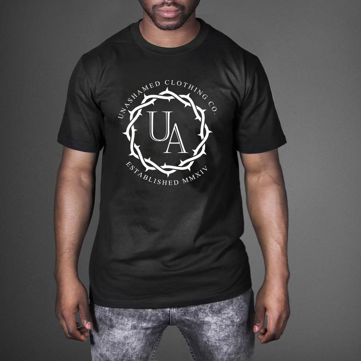 UA Crown of Thorns Circle Logo Tee