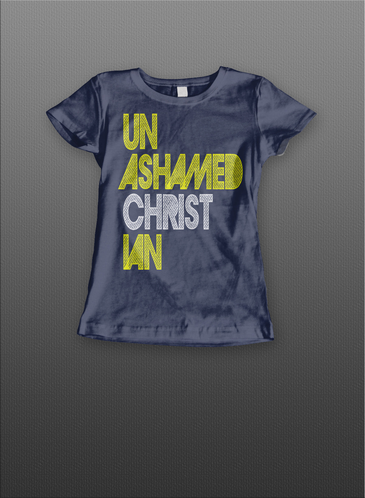 Unashamed Christian Student Ladies Tee