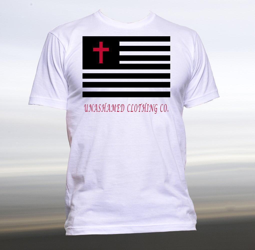 In God We Trust Flag Tee
