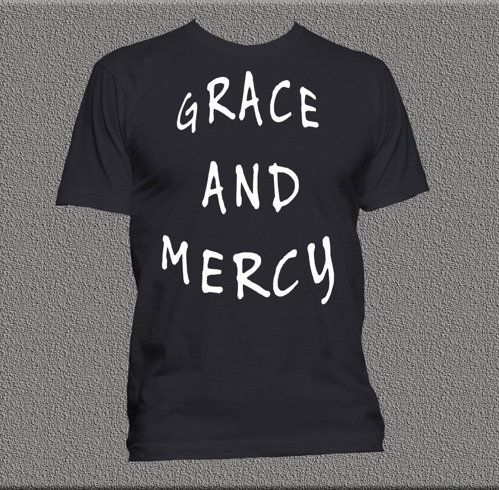Grace and Mercy Tee | Christian Streetwear | Unashamed Clothing