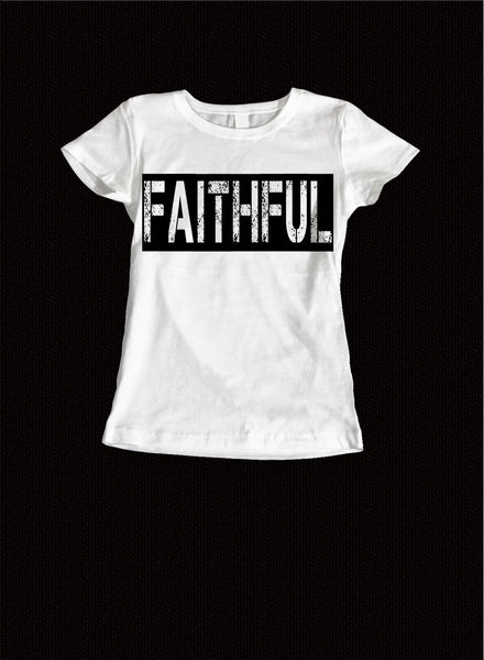 Faithful Ladies Tee