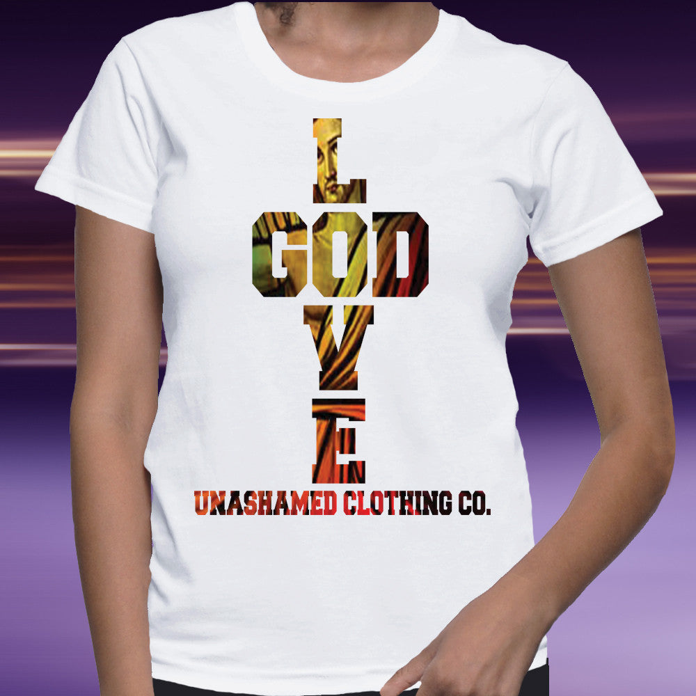 Love God Ladies Tee