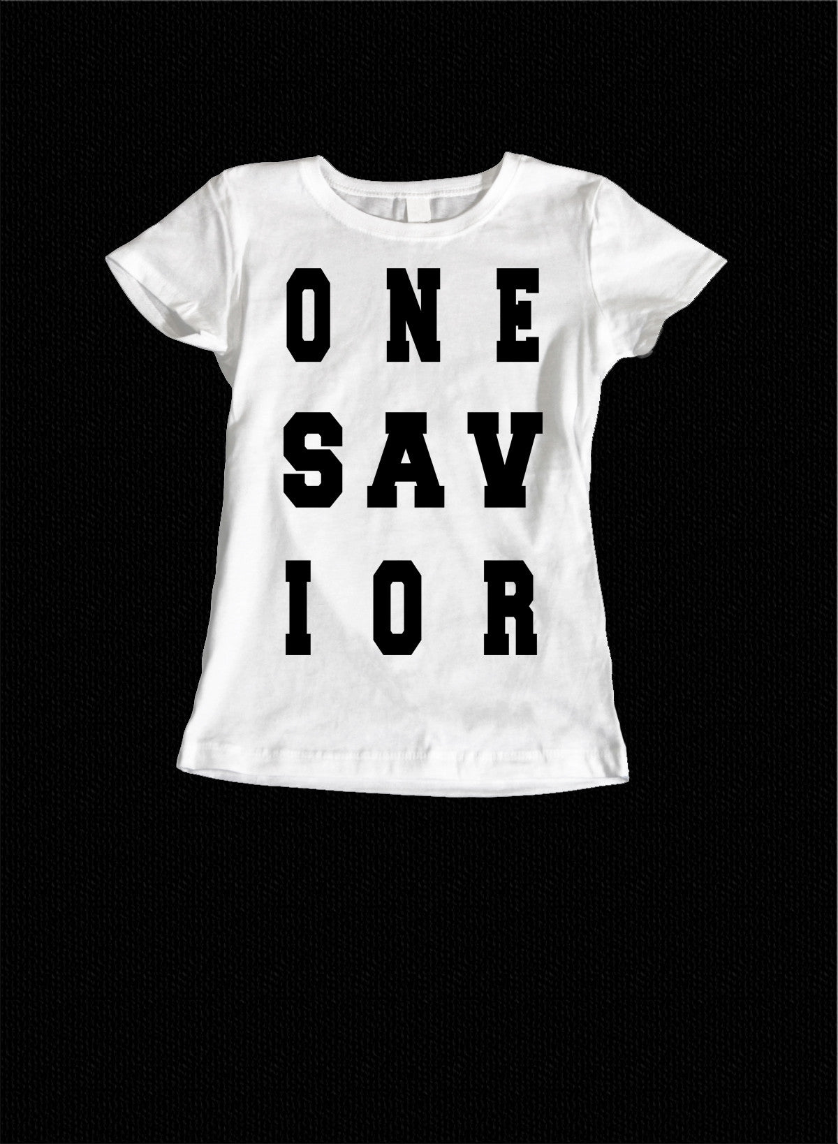 One Savior Ladies Tee