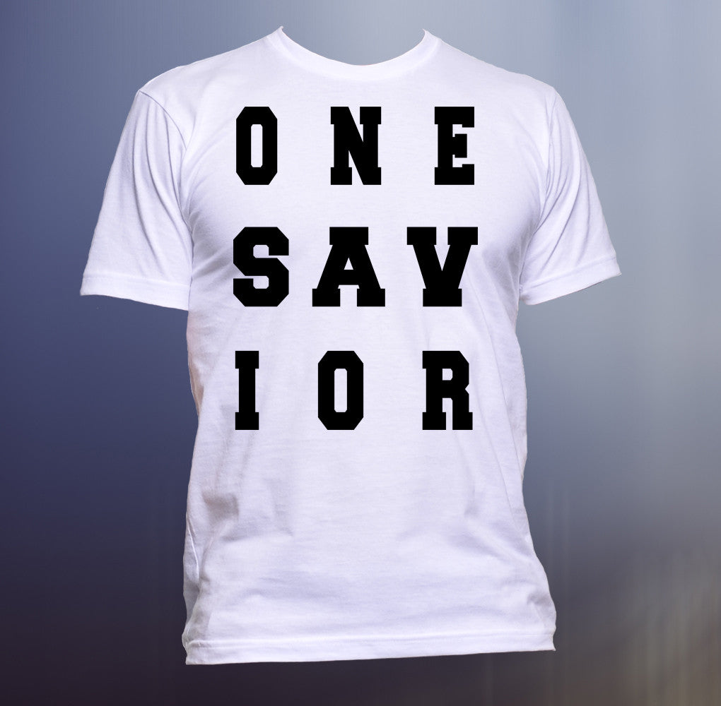 One Savior Tee