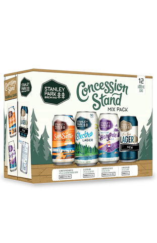 Concession Stand Winter Mix Pack - 12x 355ml Cans